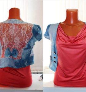 Блуза и балеро