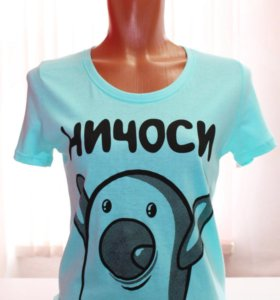 Женские футболки. Новые