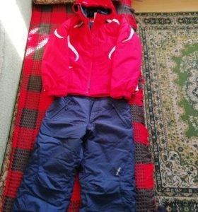 Курточка+штаны на одном синтепоне, 46 размер