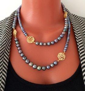 Ожерелье, бусы из жемчуга