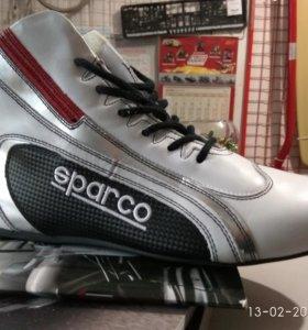 Ботинки Sparco FIA .Экипировка для автоспорта.