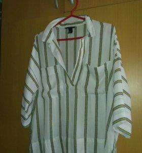 Рубашка лёгкая H&M