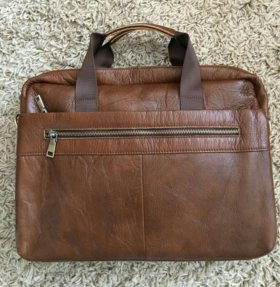Портфель, сумка мужская, натуральная кожа!