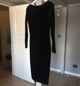 Бархатное платье LoveRepublic