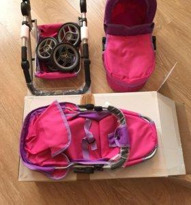 Новая коляска для куклы,другие расцветки в профиле