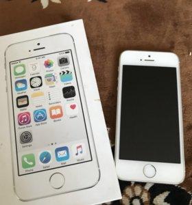Телефон iPhon 5s 16GB