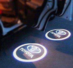 Врезные проекторы в двери автомобиля