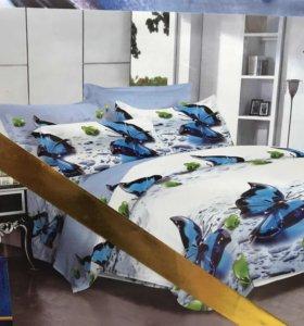 Новый Комплект постельного белья