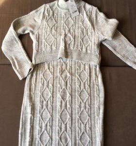 Платье для беременных и кормящих (новое)