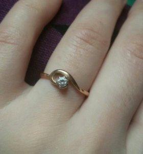 Кольцо золото 17 размер. Торг уместен)