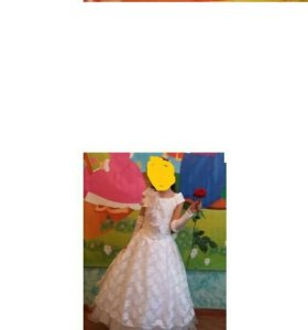Выпускное платье детское