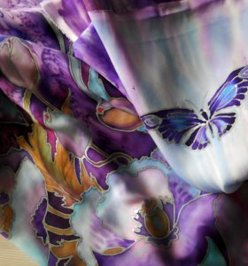Палантины и платки из натурального шёлка