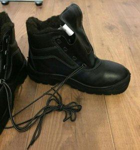 утепленные рабочие ботинки