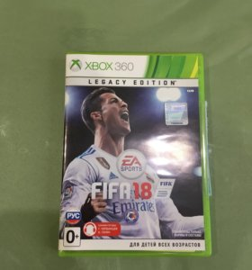 Fifa 18 на Xbox 360