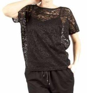Кружевная блуза новая