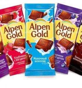 Шоколад альпенгольд
