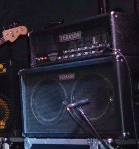 Ламповый гитарный усилитель+кабинет
