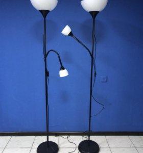 Торшер/лампа для чтения, черный, белый