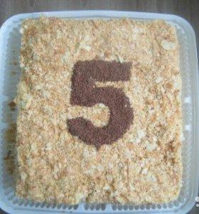 Домашние тортики на заказ