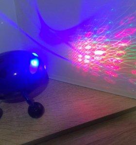 Лазерный проектор Божья коровка музыкальный