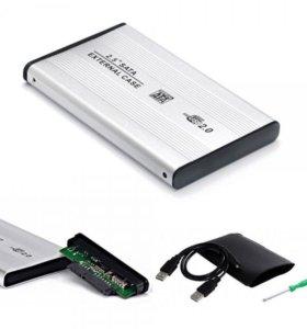 Внешний USB бокс для HDD винта Новый