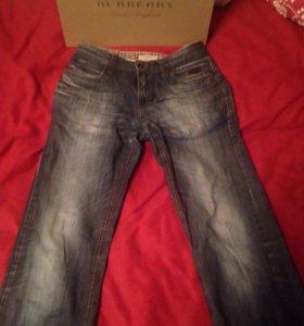 Оригинал Burberry джинсы