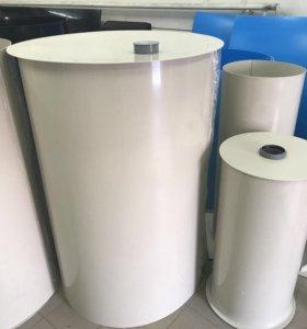 Емкость 1000 литров с крышкой