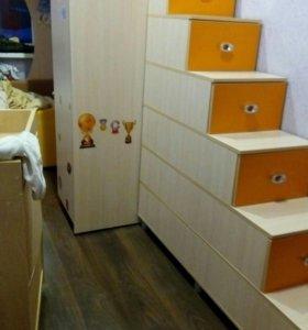 Кровать двуяруска