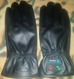 Блютуз перчатки