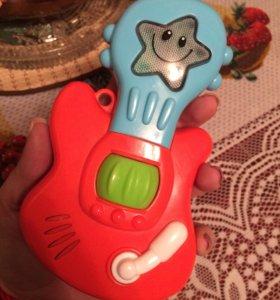 Музыкальная игрушечная гитара 🎸