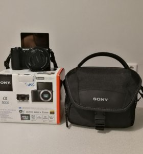 Sony Alpha A5000 Kit 16-50 Black