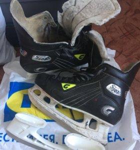 Хоккейные коньки Graf Supra 503 44 размер