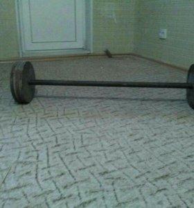 Штанга наборная от 8 до 40 кг