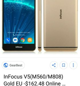 Infocus V5 808