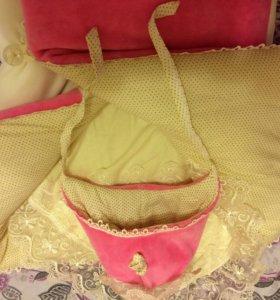 Конверт- одеяло для девочки