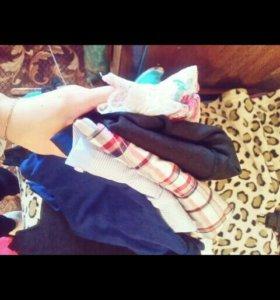 Пакет вещей ( рубашка,1 блузка, платье, футболка)