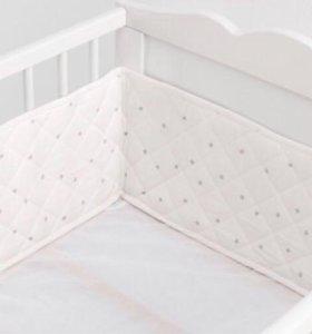 Новый бортик в кроватку Икеа
