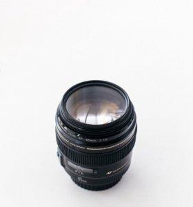 Объектив Canon 85 mm 1.8