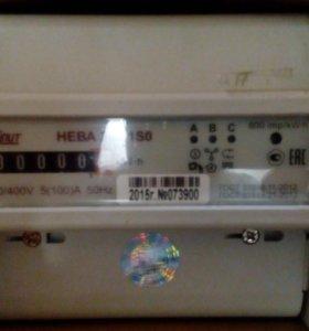 Счетчик электрической энергии трехфазный НЕВА 303