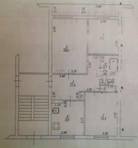 Комната, 8.5 м²