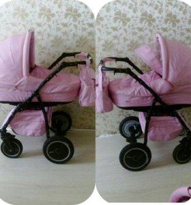 Детская коляска Адамекс Эндуро 2в1 ЭКО-КОЖА