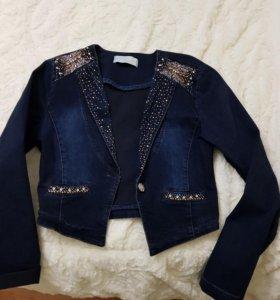 джинсовая куртка .куртка барбери , костюм