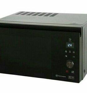 Печь с грилем конвекцией, микроволновка/ духовка