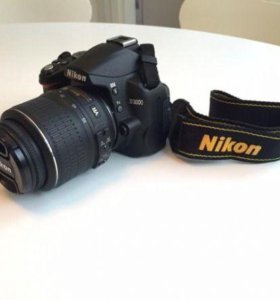 Зеркальный фотоаппарат никон д 3000