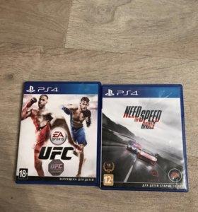 Игры PS4 UFC NFS