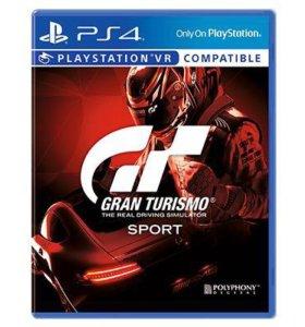 Продам PS4 Gran Turismo sport (поддерживается VR)