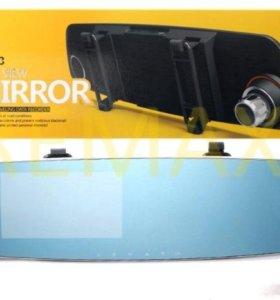 Видеорегистратор-зеркало Remax CX-03 (2-камеры)