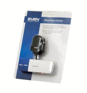Микрофон на клипсе (петличка) Sven MK-150 новый