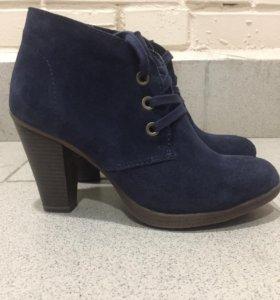 Ботильоны ботинки зимние