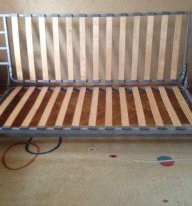 Кровать Икеа бединге левос